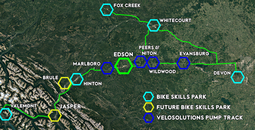 The bike park will bring people from across the province and beyond to our community.