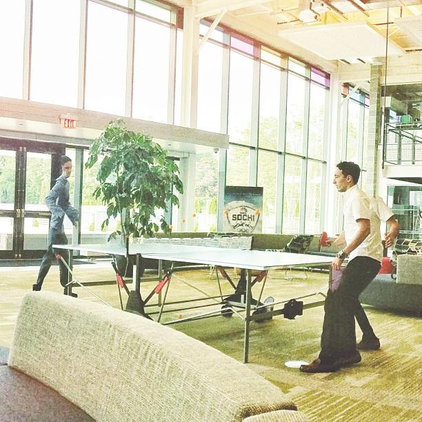 Matrix Pong (at NBC Sports Group)