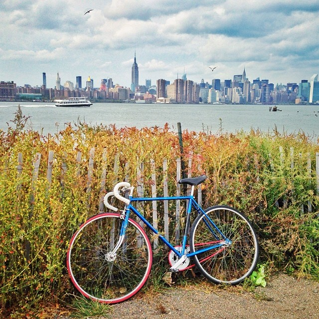 New city whip on that Craigslist tip (at Smorgasburg Williamsburg)