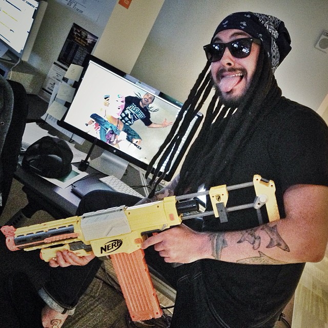 Spring Break Forever. Happy Halloween man. (at NBC Sports Group)
