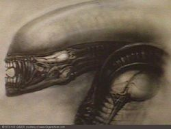 (via  hrgiger )    RIP to a great creative mind. I'm happy his surreal visions of nature and machine as one will live on for generations.  Hans Rudolf Giger Born: 5 February 1940 Chur, Graubünden, Switzerland Died: 12 May 2014 (aged 74) Zürich, Switzerland