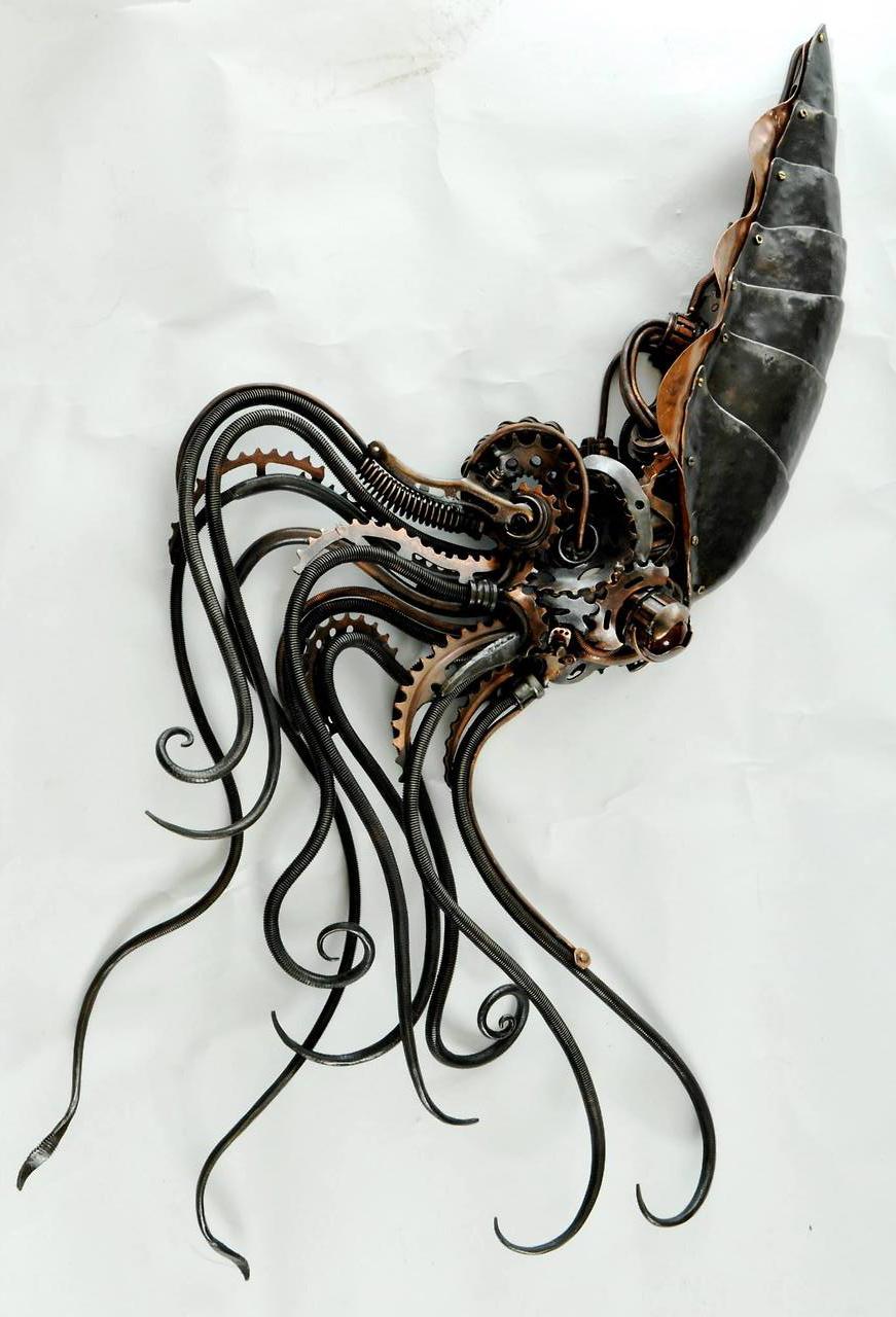 johnnybravo20 :      Steampunk Squidipus  (by  Alan Williams )