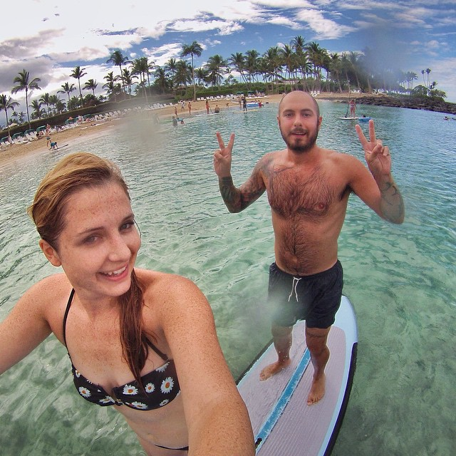 Double sup, sup? (at The Fairmont Orchid, Hawaii)
