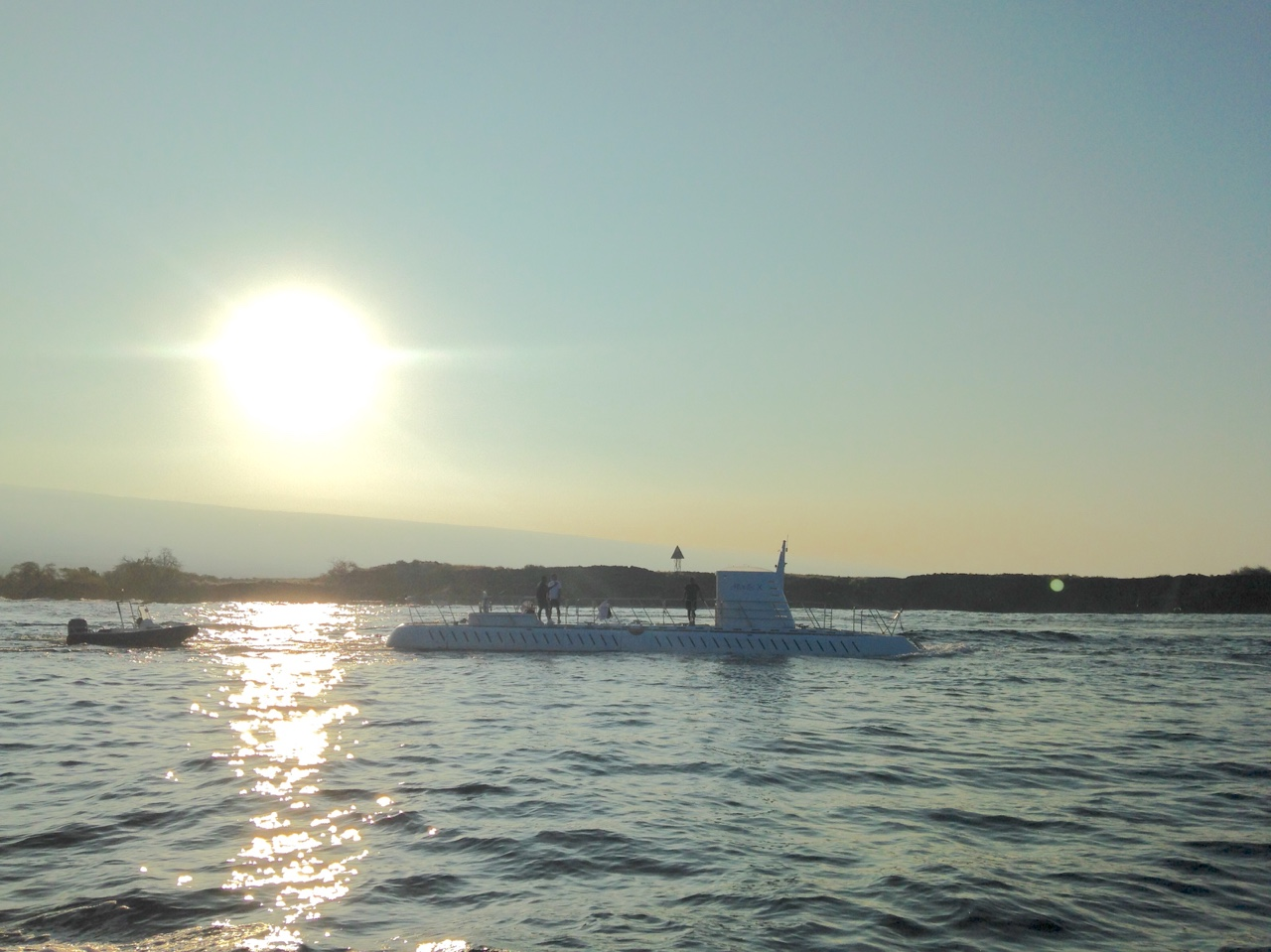 Sunrise submarine