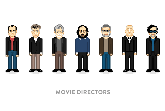 otfilms: Movie Directors by veryimportantpixels.