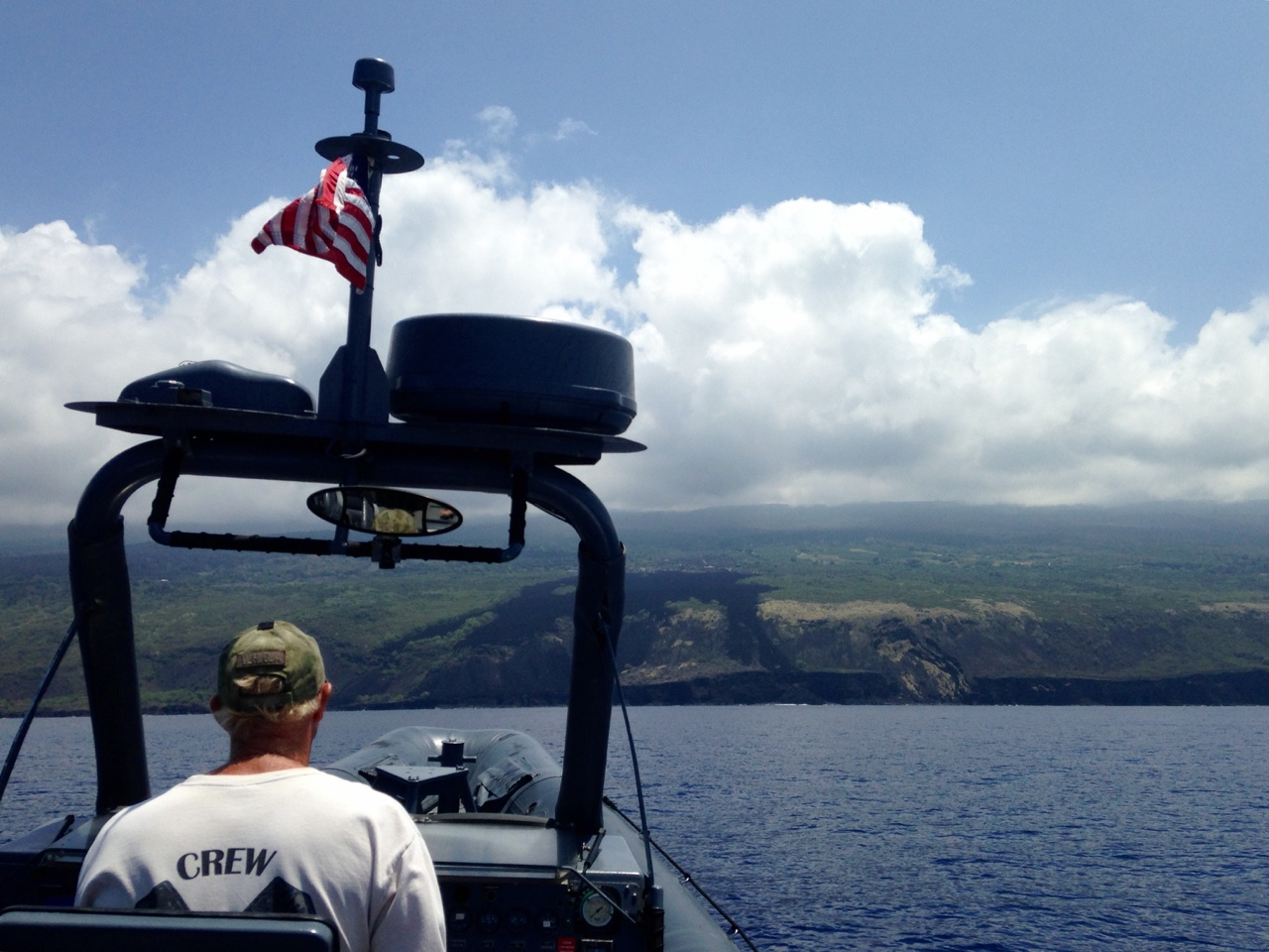 Awesomely amazing day ripping around the Kona Coast on this twin 470HP Rolls Royce jet drive USMI 11m Navy SEAL Ocean Warrior. Pilot whales, two species of sharks, a few sea turtles and countless beautiful reef fish.  For today's Hawaiian wildlife and more look here:  https://flic.kr/s/aHsk9qgHpz