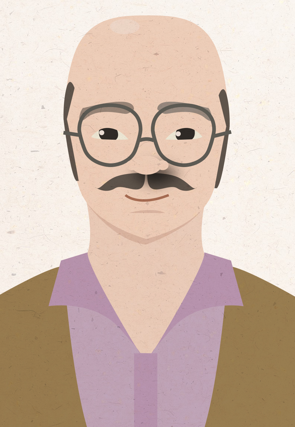 carolined: A quick Tobias Funke illustration I did.