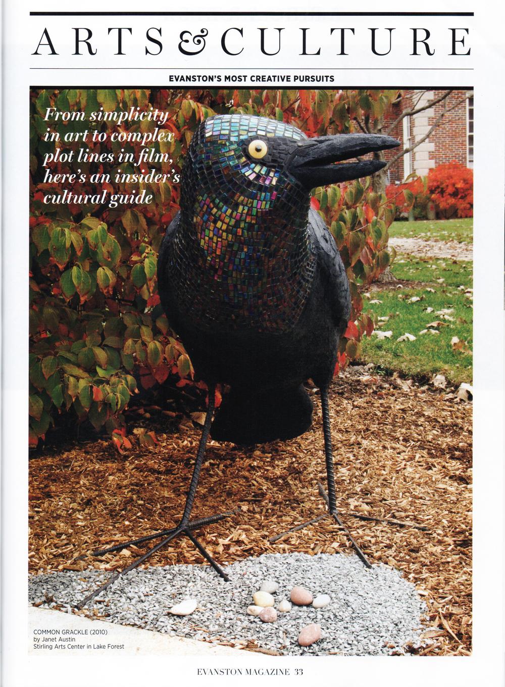 Evanston magazine cover