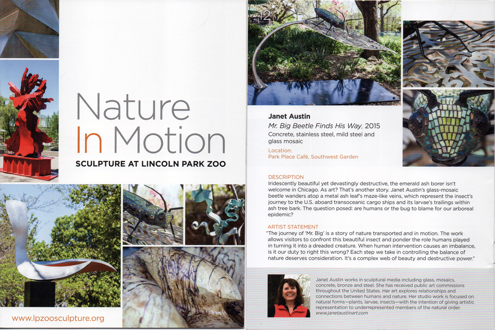 Lincoln Park Zoo Catalog, Mr. Big Beetle Finds His Way, May 2015