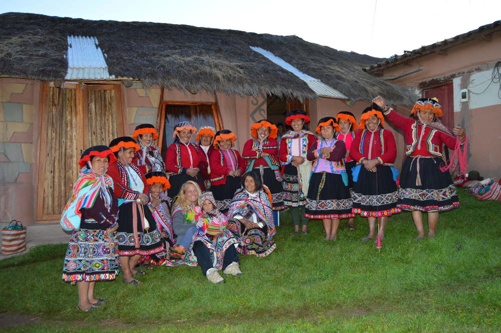 Amaru Community near Cusco, Peru