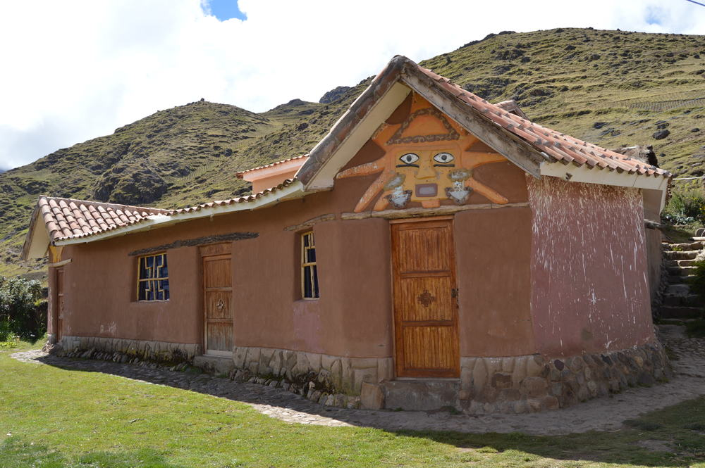 Homestay guest house at Paru Paru Community near Cusco, Peru