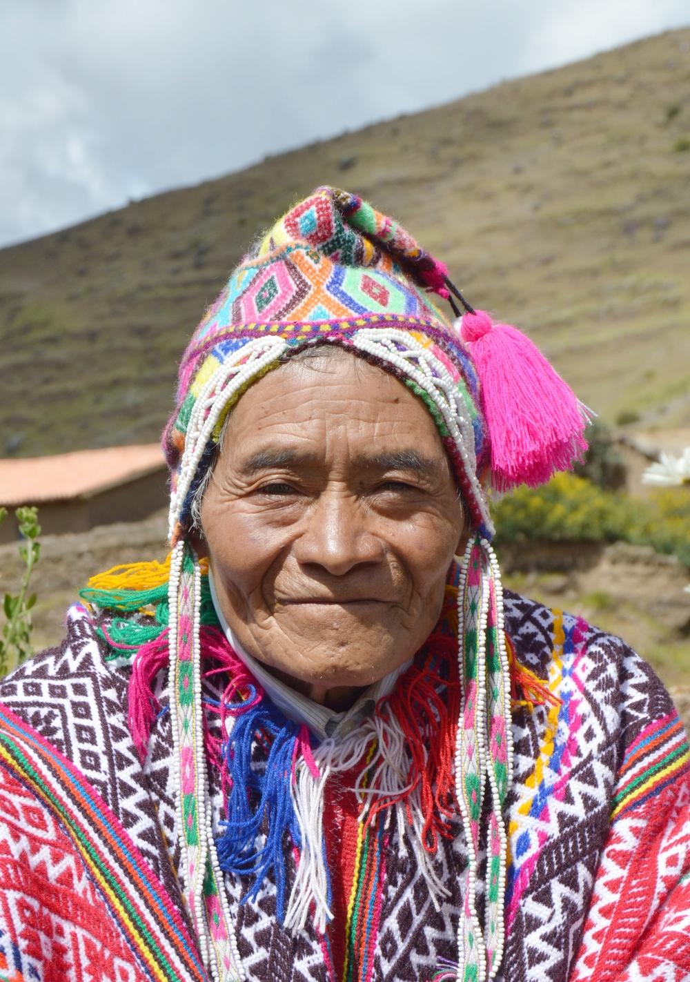 Fermin Pacco Gallegos, Farmer & Ex-President of Paru Paru Community