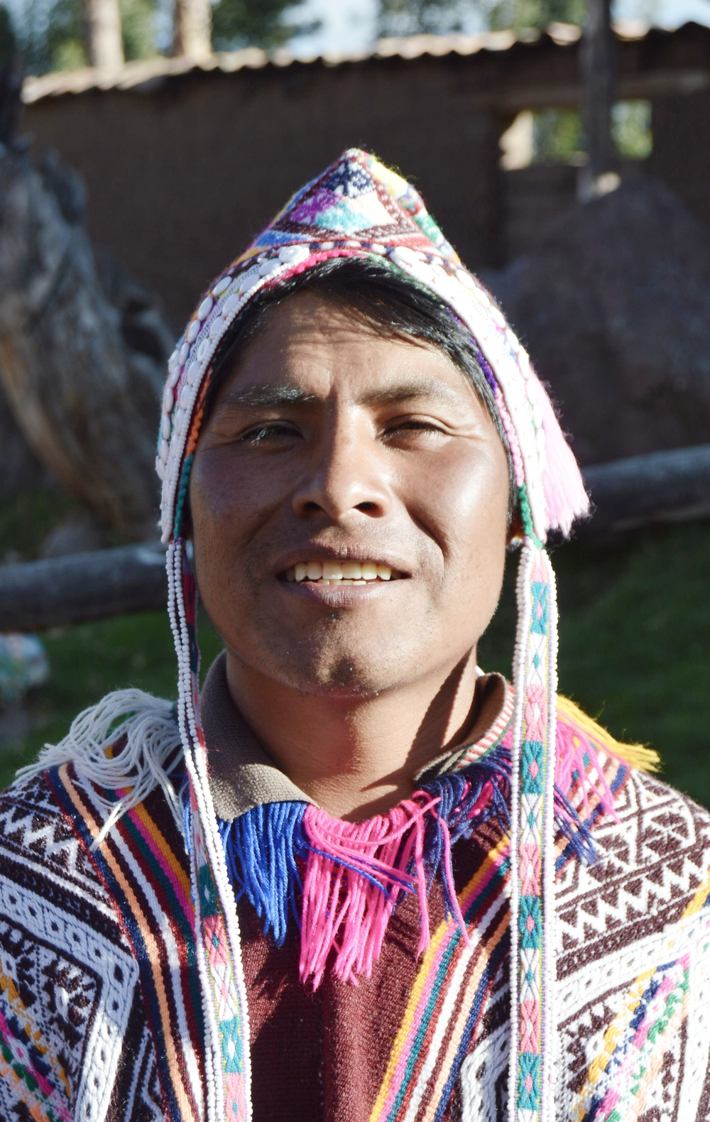 Ceferino Sicos Macce, Farmer, Local Guide, and Logistics Coordinator for CBT Association