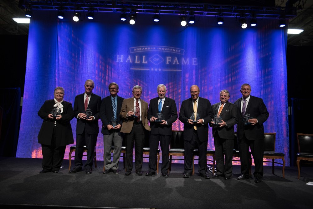 Inaugural Class of the Arkansas Insurance Hall of Fame