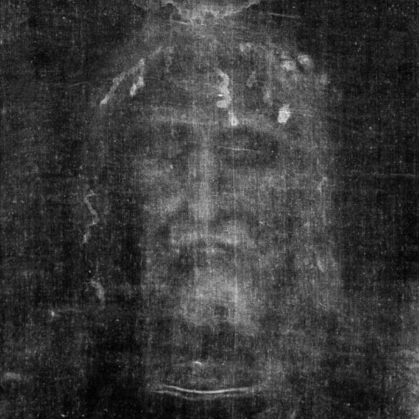 Face of Jesus from the Holy Shroud of Turin