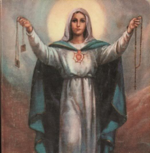 """Whosoever dies clothed in this shall never suffer eternal fire."" - Our Lady's Scapular Promise"