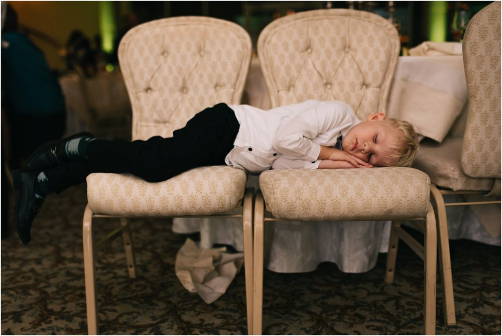Weddings are exhausting affairs!