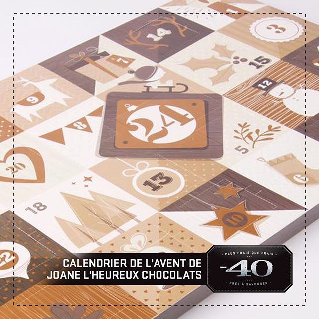 Les calendriers de l'Avent de @joane_lheureux_chocolats sont de retour !! Venez vite à notre boutique de Laurier, les quantités sont limitées, les premiers arrivés seront les premiers servis. // Joane l'heureux chocolate Advent calendars are back !! Come quickly to our Laurier boutique. The quantities are limited, first come, first served. . . . . #foodporn #foodie #foodiesofinstagram #instafood #plusfraisquefrais #foodgasm #food #moins40 #minus40 #eat #nomnom #mtlfood #mtlfoodie #foodiesmtl #yummy #mtleats #instagood #instafood #madewithlove #gourmet #montreal #montrealcity #montrealfood #shoplocal #chocolate #adventcalendar #calendrierdelavent #chocolats #christmas #noel