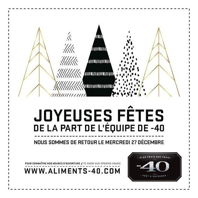 Joyeuses fêtés !! // Happy holidays !! . . . #foodporn #foodie #foodiesofinstagram #instafood #plusfraisquefrais #foodgasm #food #moins40 #minus40 #eat #nomnom #mtlfood #mtlfoodie #foodiesmtl #yummy #mtlmoments #mtleats #instagood #instafood #madewithlove #gourmet #montreal #montrealcity #montrealmoments #montrealfood #shoplocal #xhristmas