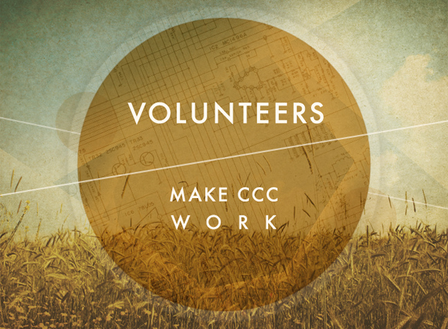 ryan dupre   Volunteers make CCC work  https://creativecommons.org/licenses/by-nd/2.0/