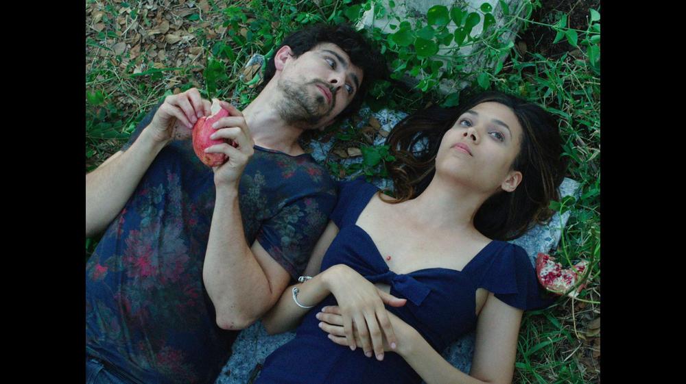 Hermes (JORGE LUIS MORENO) and Moira (VIRGINIA SANCHEZ NAVARRO) discuss death 300dpi.jpg