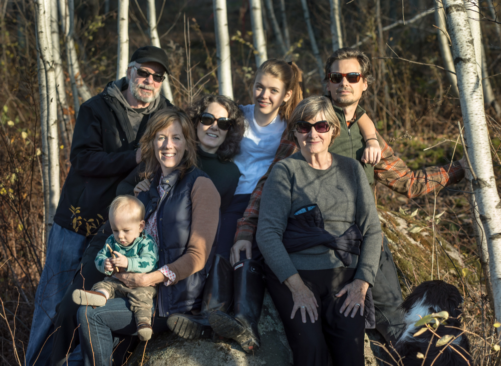 family in Richmond on Bidget's BD