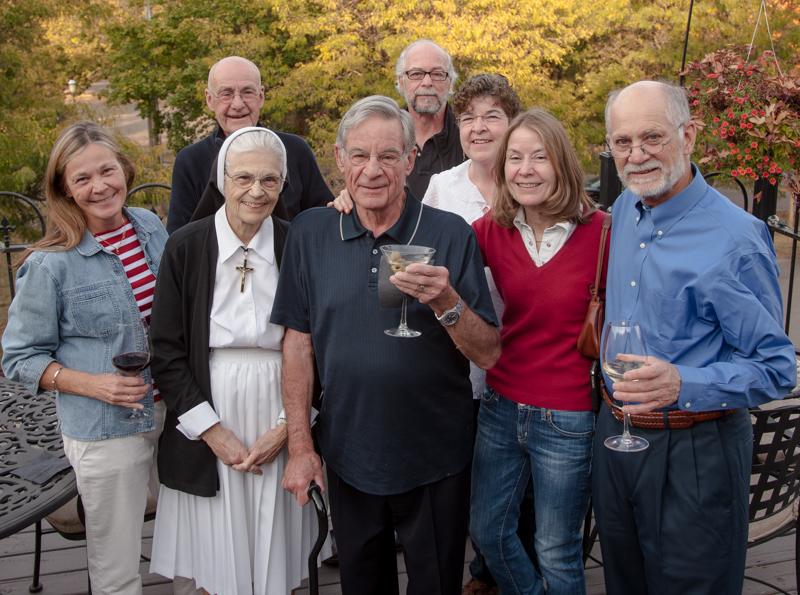 Rosie, Joanne, Richard, Elizabeth, John, Tom, ME, Bernadette - Jim and Marge previously deceased