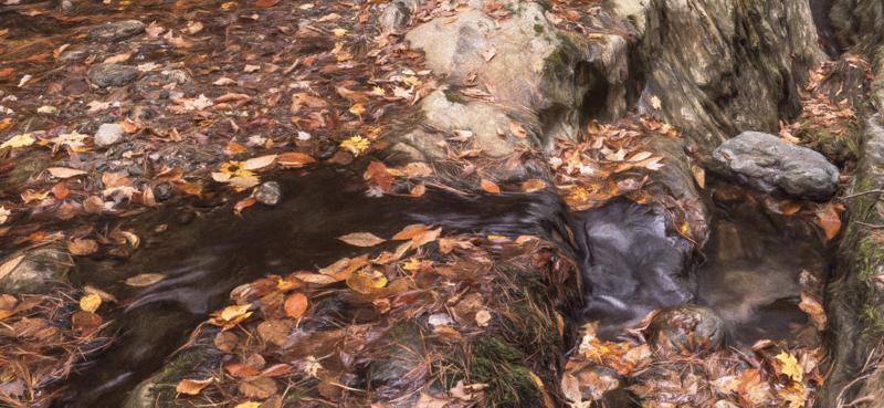 Huntington River Falls 2 Drought PhaseOne IQ 180 30sec f12 ISO 35