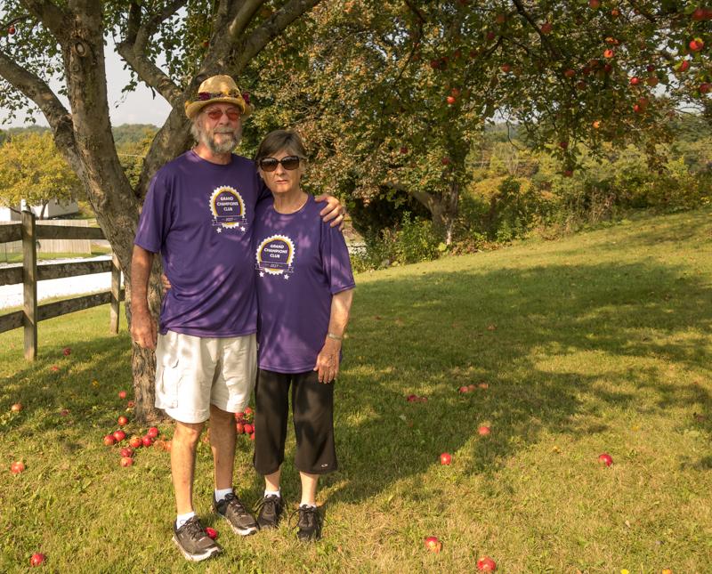 Alzheimer's walk, Vermont