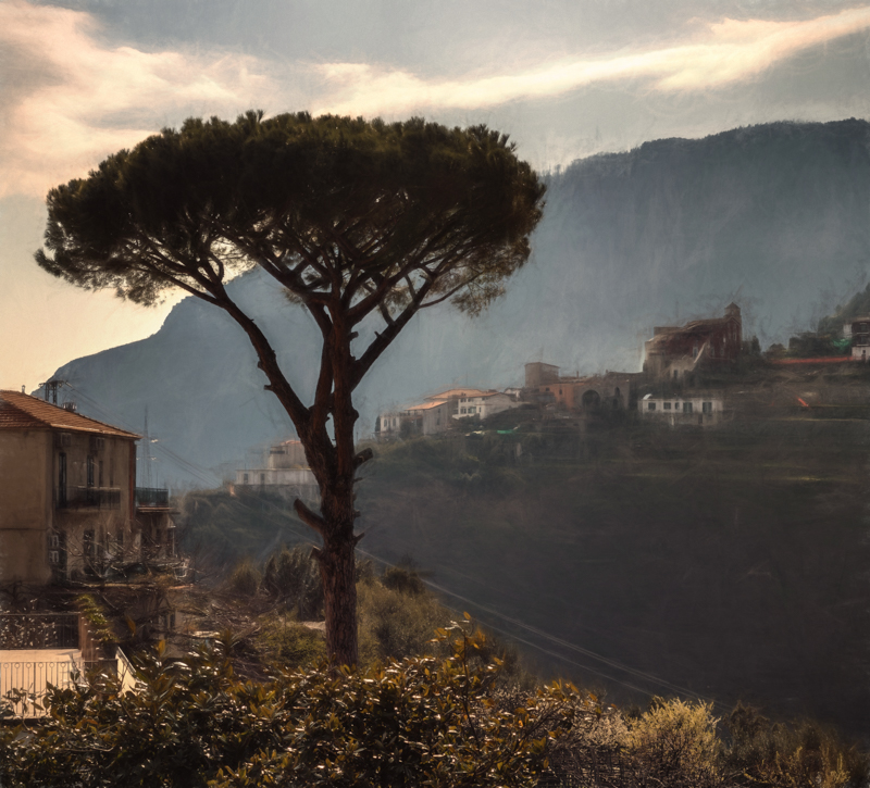 Amalfi, PhaseOne IQ 180 80mm 1/100 sec f12 ISO 35