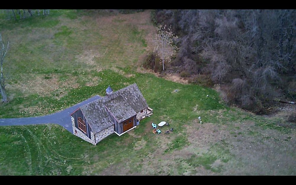 Shot with the new #drone #thefarmstudio