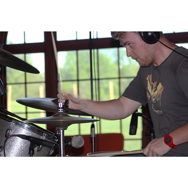Hitting stuff with sticks.  Photo by @theannachiu   #thefarmstudio