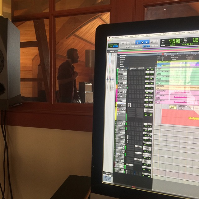 Nearing the finish line #sidesaddlemusic #thefarmstudio