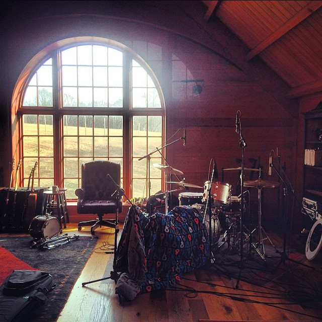 We makin a record  #thefarmstudio   #youngpandas #enigmas (at The Farm)