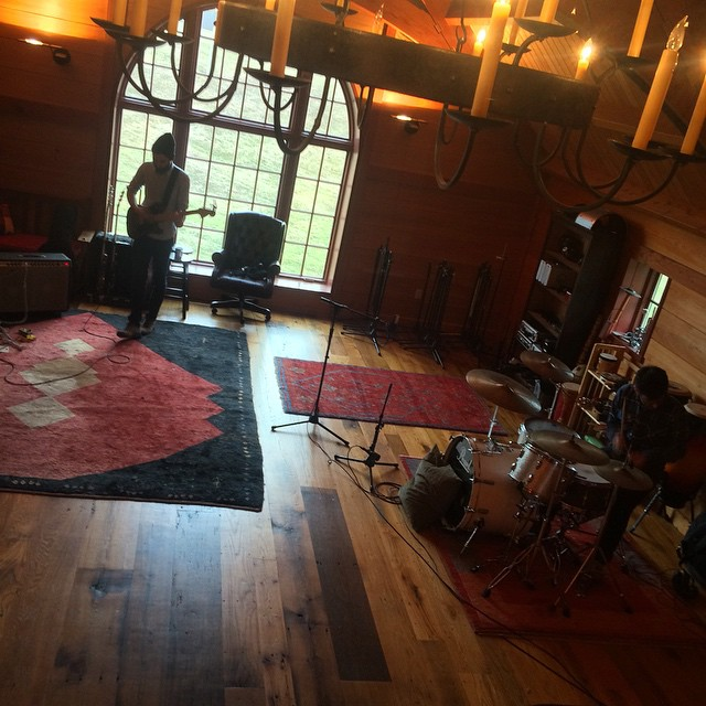 Pre-pro, getting ready to track  #sidesaddlemusic   #thefarmstudio
