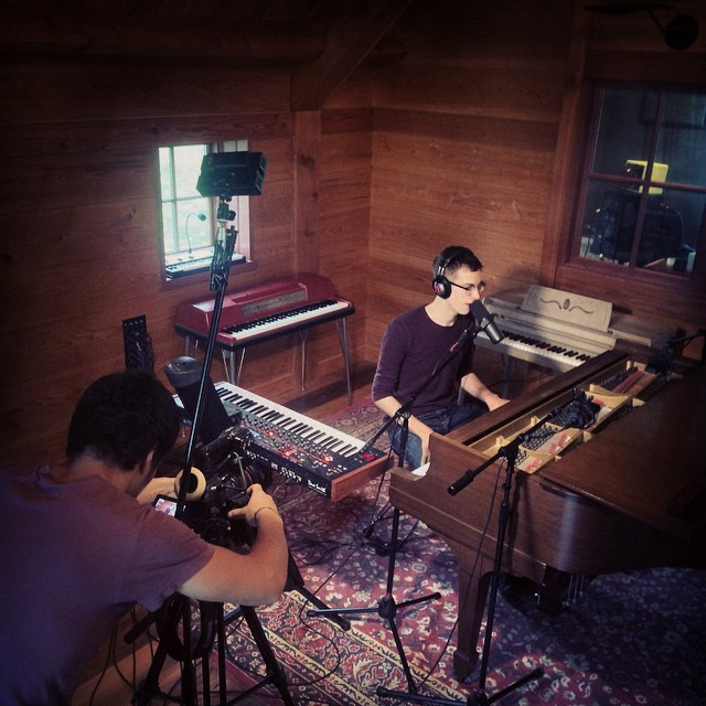@calehawkins doing his thang  #thefarmstudio