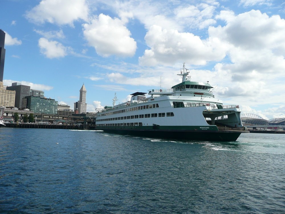 WA State Ferry, downtown