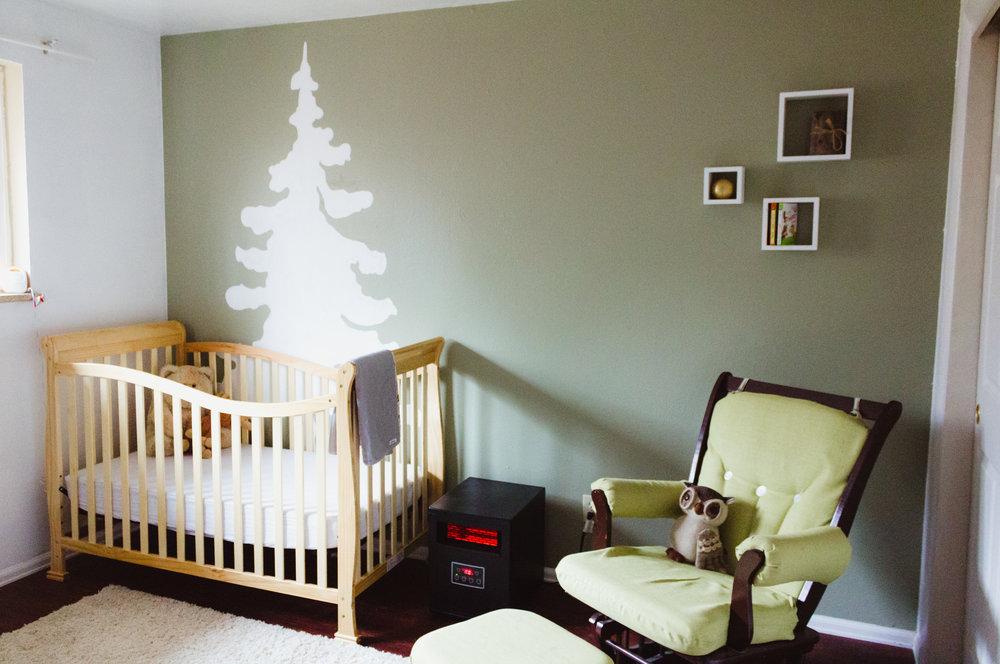 Lenni's Nursery. Wall Art by Angelie Casey