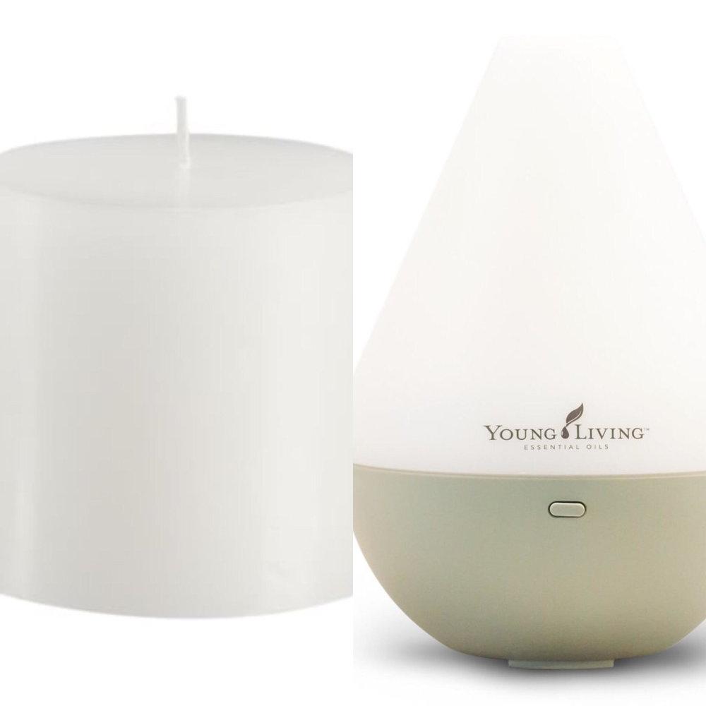 Candles vs Diffusing Essential Oils
