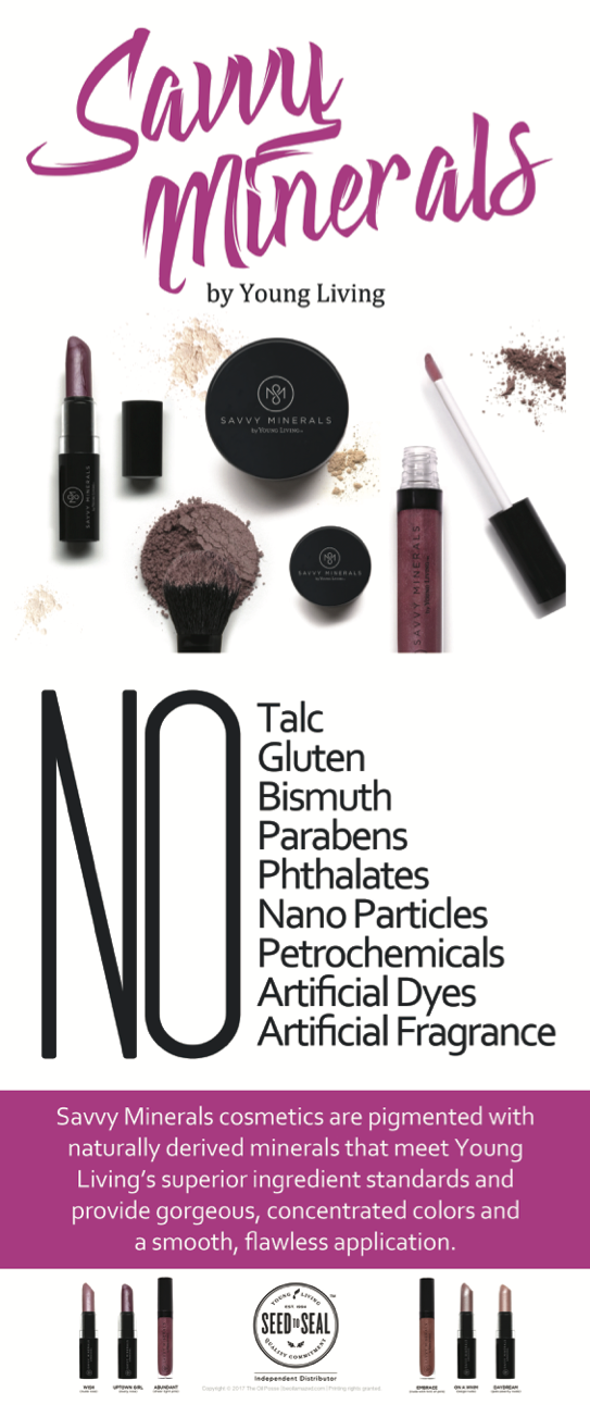 Savvy minerals - I know you're probably thinking