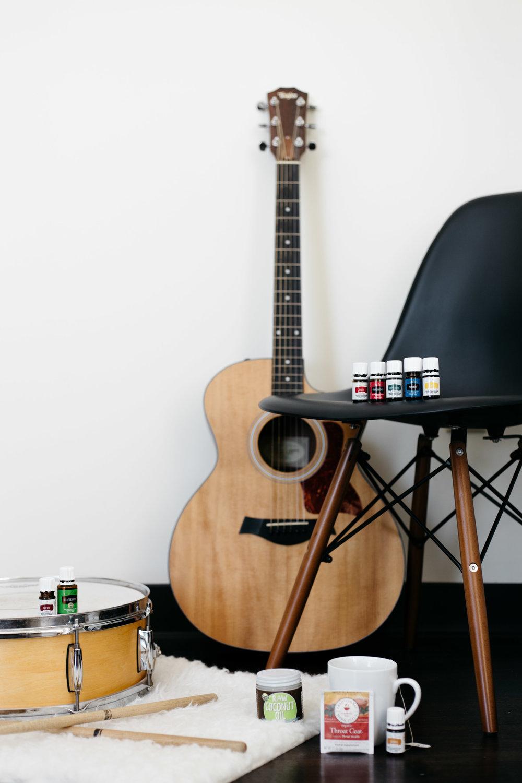 Essential Oils for Musicians