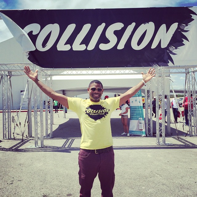 Volunteering is a great way to give back, make connections, and attract people into your life! Thanks for the action-packed two day hookup @CollisionHQ #DTLV #VEGAS #CollisionConf #InstaTech #InstaGood #AlphaSapien