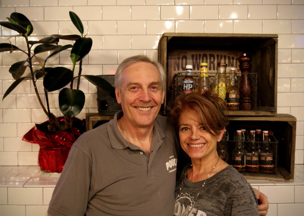 Dan and Jane Malcher of Pouch Pies in Athens, GA