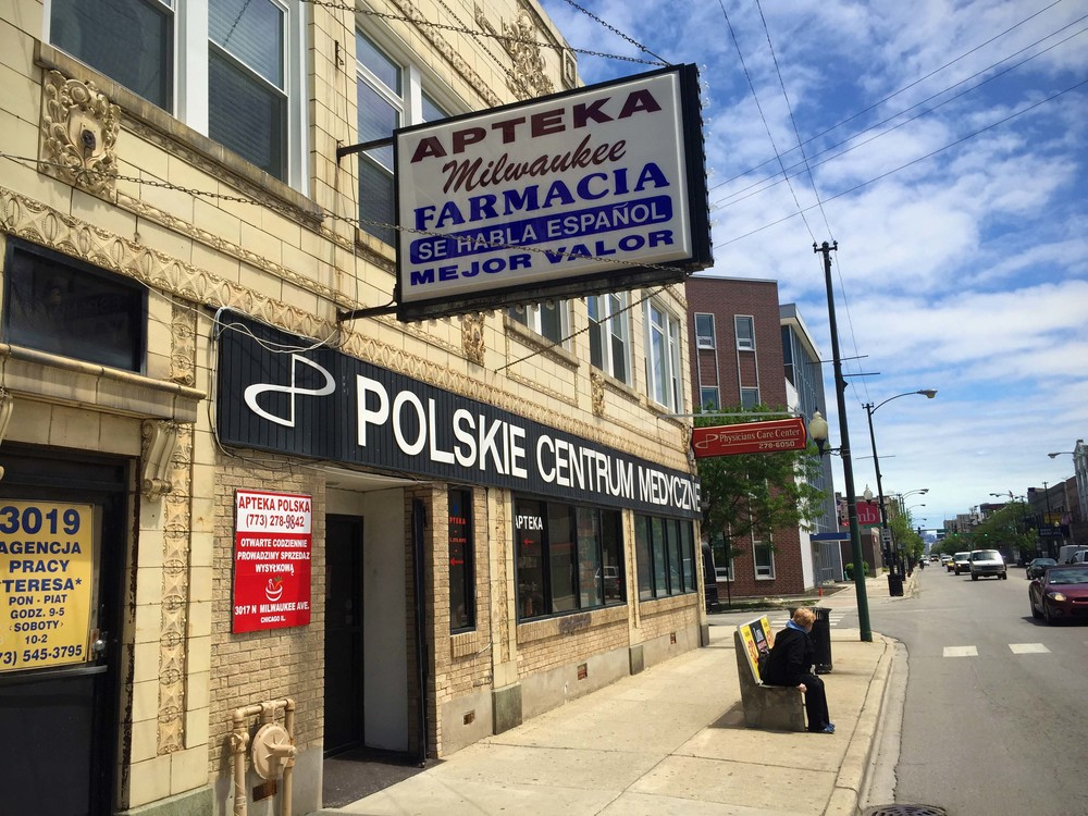 Polish meets Hispanic in Avondale, a neighborhood just west of a redeveloping Logan Square community.
