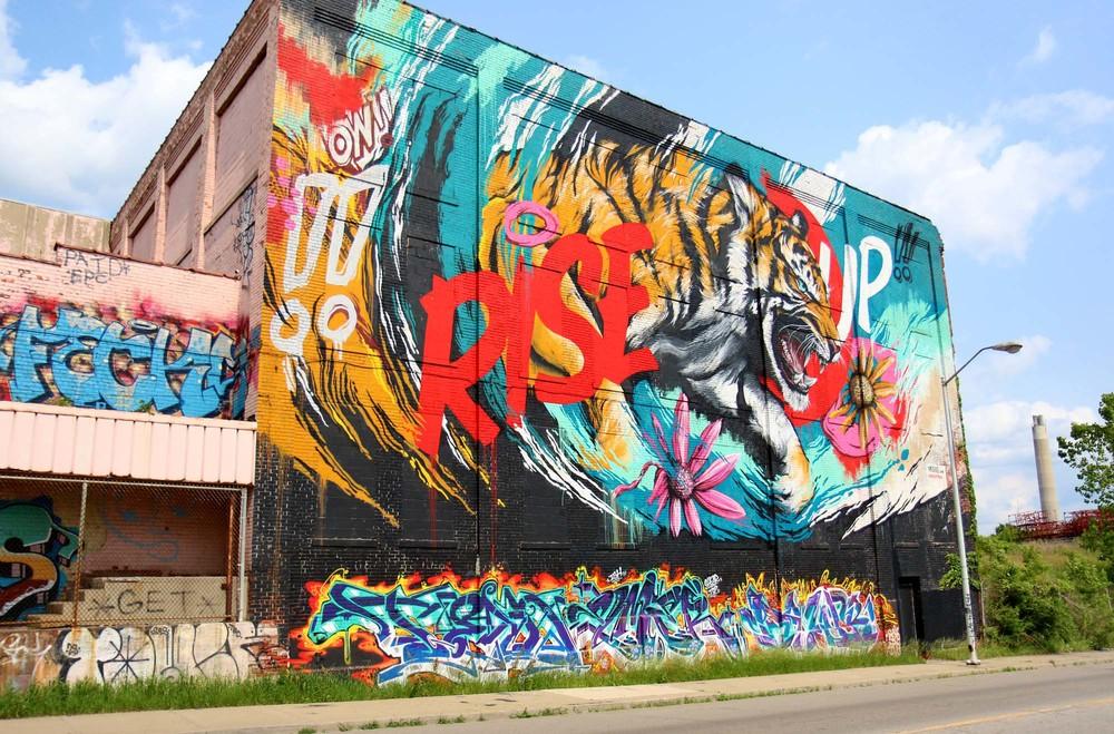 MEGGS. Rise Up, Detroit.