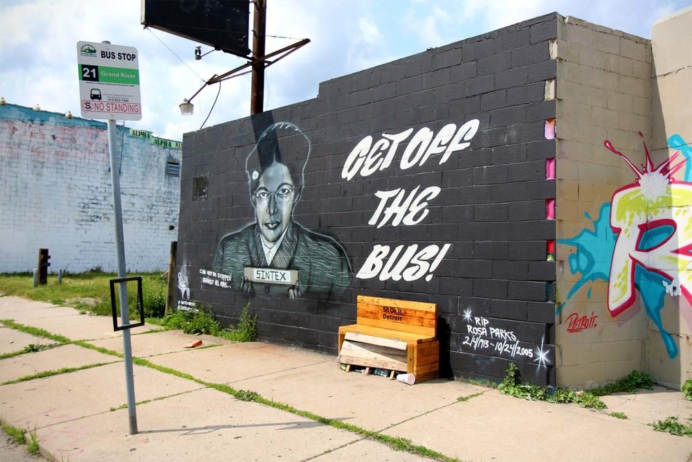 Controversial Detroit artistSintex