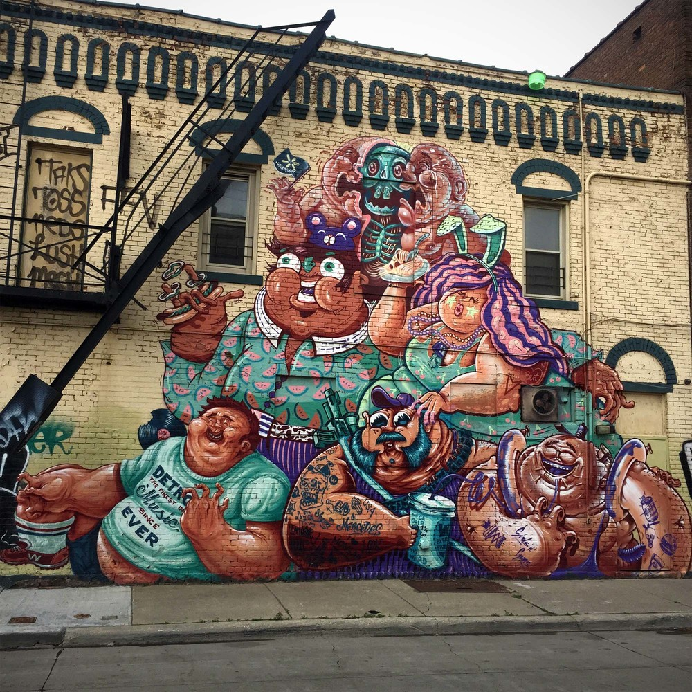 The Weird (Nychos, Cone, DXTR, LOOK, Vidam, and HRVB)