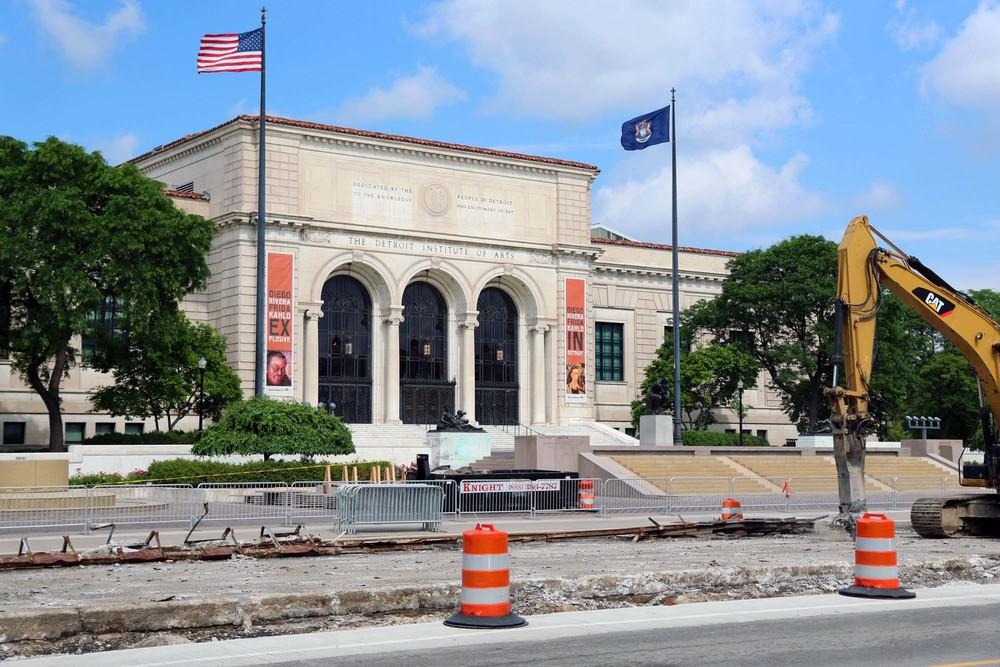Detroit Institute of Art in Midtown