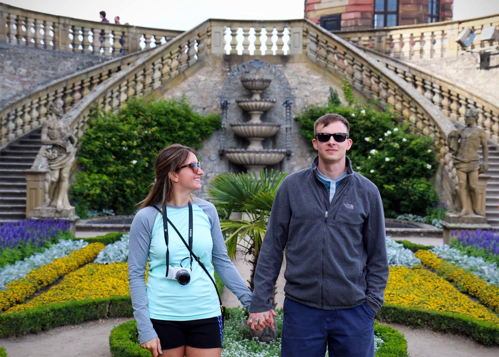 """The Tourists"". My travel companions, Travis and Lina Beardall."