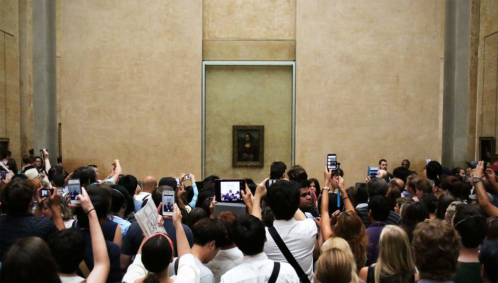 How people view the Mona Lisa now.